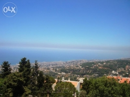 230 SM fully furnished apartment in Broummana with amazing views