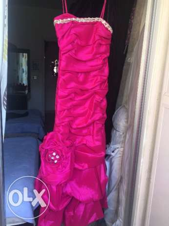 Fushia dress available size xlarge with very good quality available