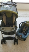 Chicco Stroller and bed set in very good condition