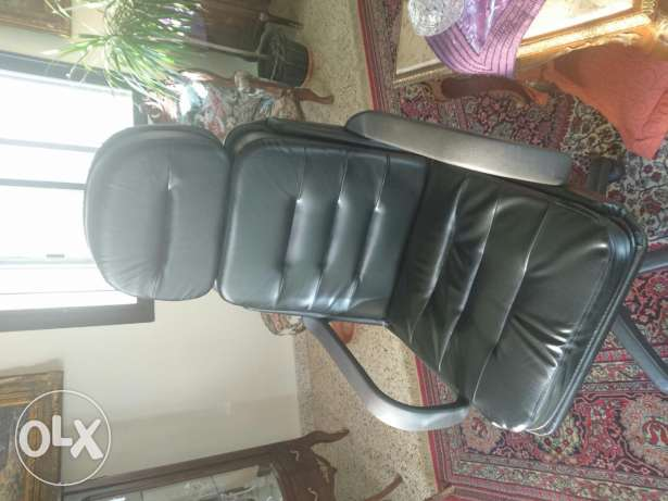 Gaming Leather Chair Black