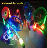 1M led charger cable