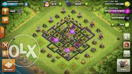 Clash of clans th8 max
