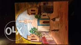 acrylic picture for sale size 25 × 20 acrylic paints