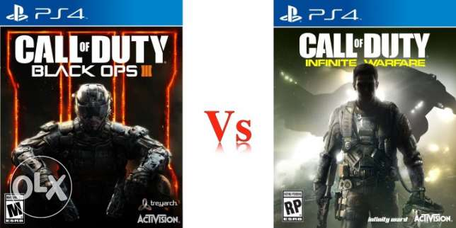 Call of Duty Black Ops 3 & Infinite Warfare PS4 (Brand New Sealed)