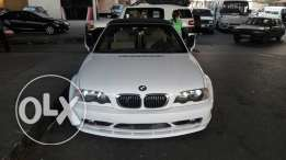 BMW 325CI Convertible model 2003