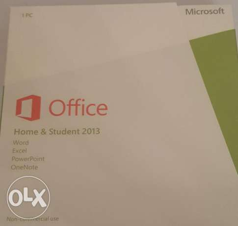 Microsoft Office 2013 Home & Student DVD Version