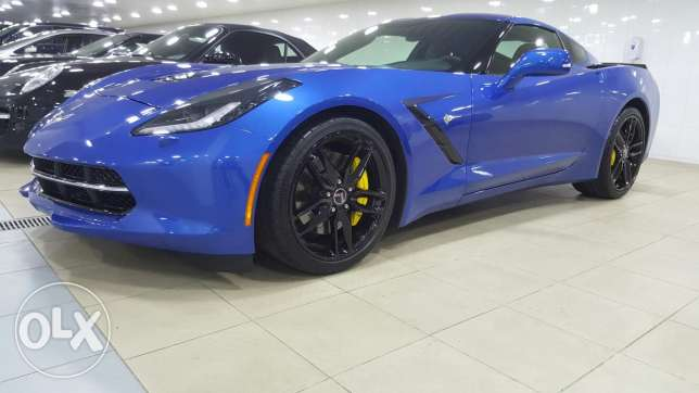 Corvette C7 Stingray 3LT 2015 مصطبة -  2