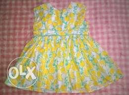 Dress Next (England) size 12-18 months (80-86 cm)