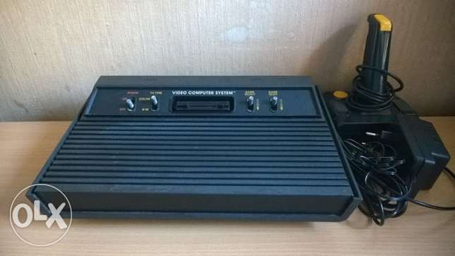 vintage 80s atari+ built in games + controller اتاري قديمة فيها العاب