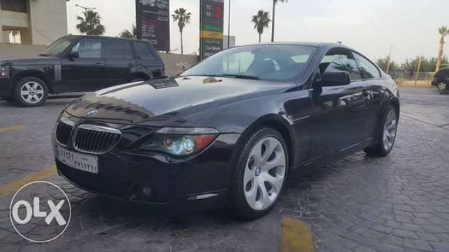 BMW 645//2005 Full option SP Clean Title No Accidents/DVD Screen Perfe