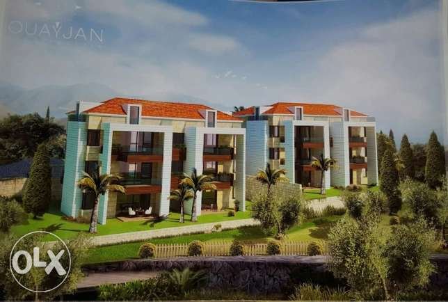 Apartments for sale in chekka l meter bi 1000$