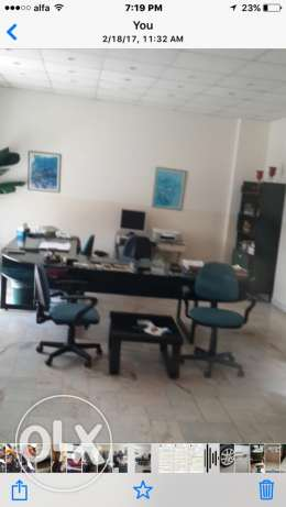 200m fully furnished office for rent