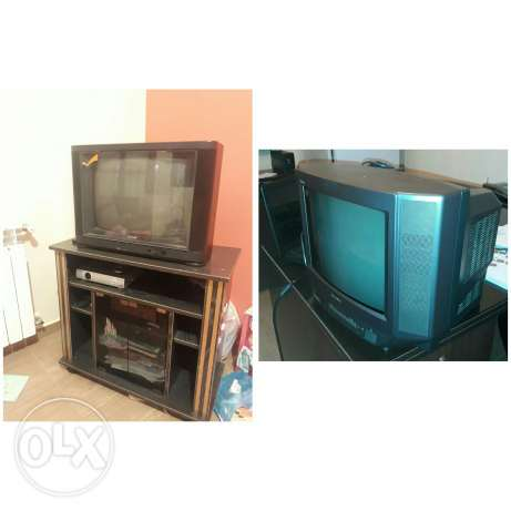 Tv sony 14 inch + Tv Samsung + Unit عرض خاص