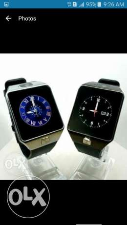 smart watch btiahti8el 3a kil l telifonet l android wl apple..