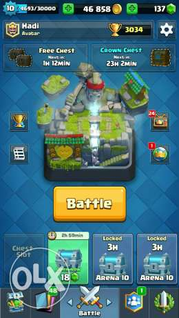 Clash royale tmene Legendaries