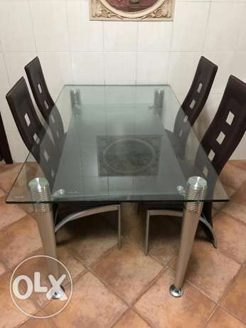 Kitchen Table Set - Great Condition