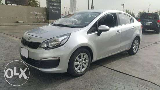 Kia Rio 2016 مصدر الشركه full option excellent condition...No accident