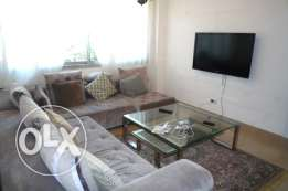 Furnished flat in Achrafieh 3 bedrooms + Parking