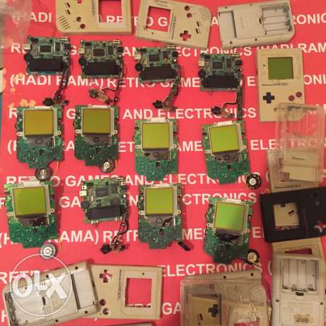 gameboy 1989 all parts you want