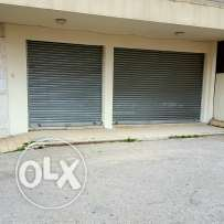 Two stores for rent in zalka at 550$ per store! Price is negogiable
