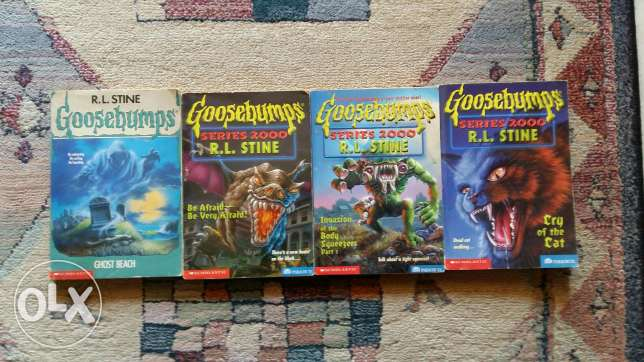 Goosebumps Books -- Good Condition