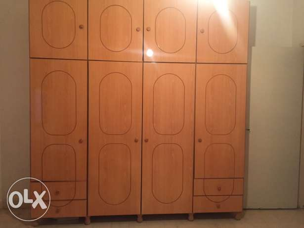 Closet in good condition