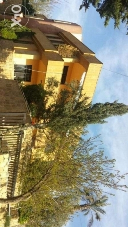 for sale a realstate in Bikfaya panoramic sea and moutain view