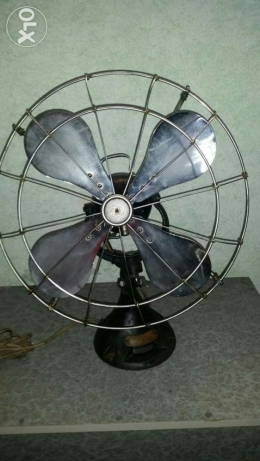 Antigue Very old fan (orbit)made in england 1930 انطلياس -  6