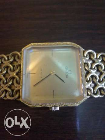 Omega all purr gold collection watch