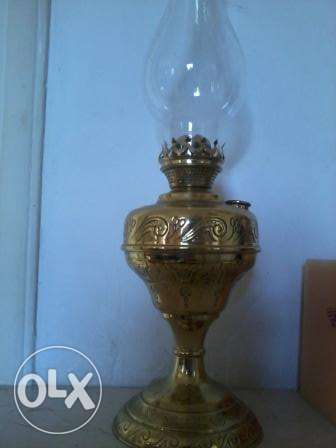 Lanterne antique130 years, 55cm, copper, gold plated, 125$