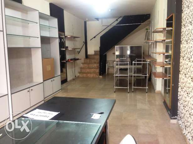 SHOP for rent,JDEIDEH 90m المرفأ -  3