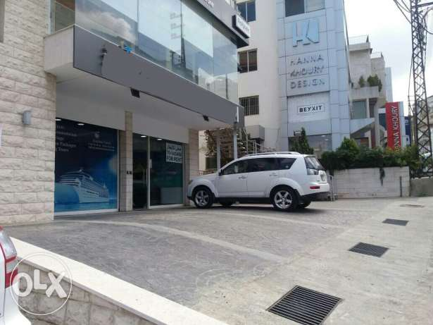 For Rent at Elissar-Mazraat Yachouh-150sqm-Main Road-Facing Wild Willy
