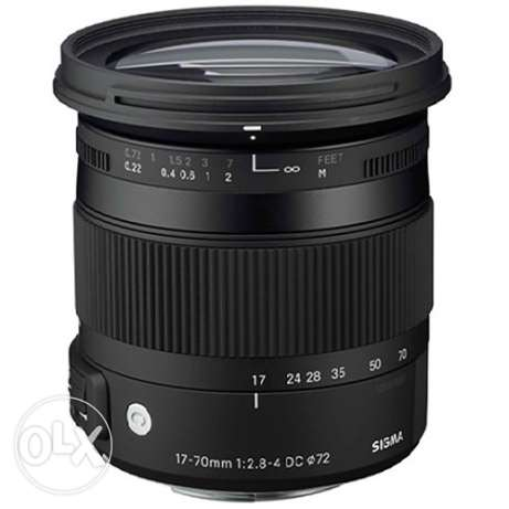 Sigma Contemporary 17-70mm f/2.8-4 DC Macro OS HSM Lens for Nikon