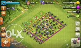 أرض clash of clans.town hall7ممتازة