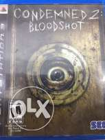 condemned2 bloodshot ps3