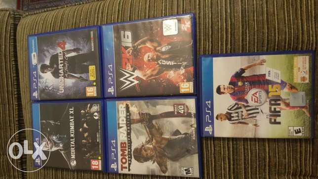Games ps4 for sale only