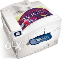 Xerox phaser 7400dn colored laser printer