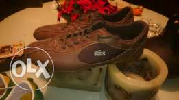 Lacoste brown size 44 new