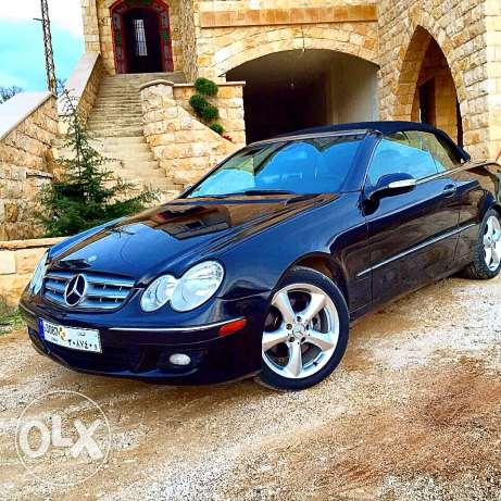 CLK 350 model2006 convertible for sale