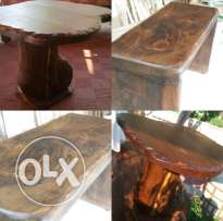 NEW Offer !! Rustic Bank + Rustic Table !!