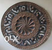 26' Antique bronze wall Decorative plate all handmade and engraved