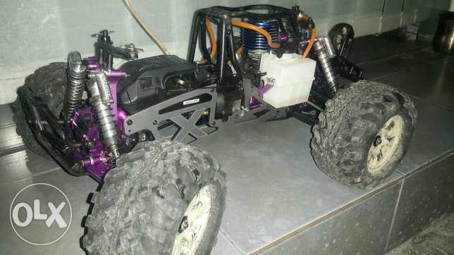 Rc savage x 3 speed and full power