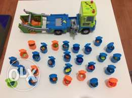 trash pack Camion avec 28 pieces