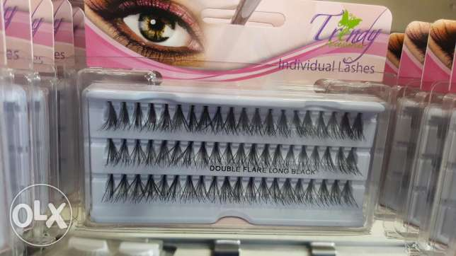 Trendy eye lashes