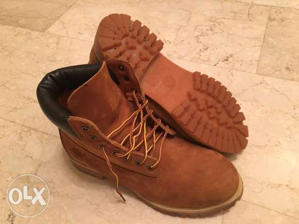 LAST WEEK . Timberland boots size 44