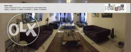 Ref # 3233 - Beautiful luxurious & Fully decorated apartment in Jnah,