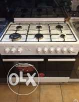 gas oven 6 eyes ( new in box)