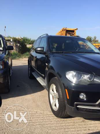 2008 x5 black /black ricaro seats panoramic exonon جبيل -  2