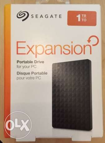 Hdd external seagate expansion usb 3.0 1TB