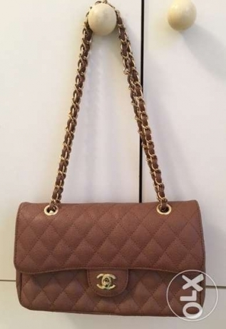 Fake Chanel Handbag-camel-very good copy